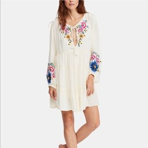 Free People Boho Flowy Tunic Dress